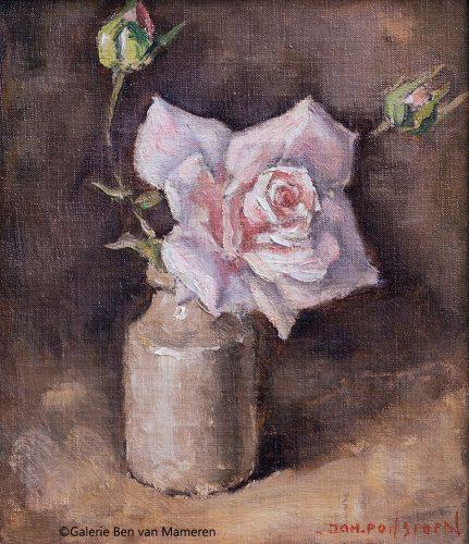 Roos in vaas