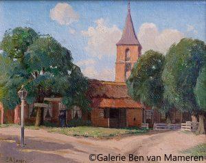 Cafe Zoelen met kerk