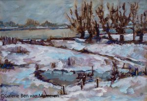 Winter aan de Waal