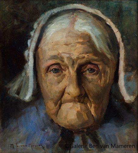 Portret Aaltje v. Mil