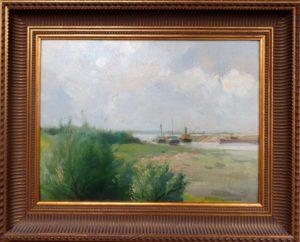Aanleg Amsterdam Rijnkanaal bij Tiel