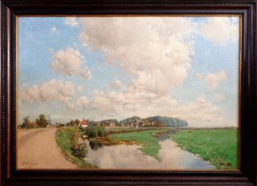 Waaldijk bij Herwijnen