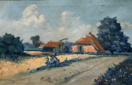 Boerderij in Landschap ( Zeeland ? )